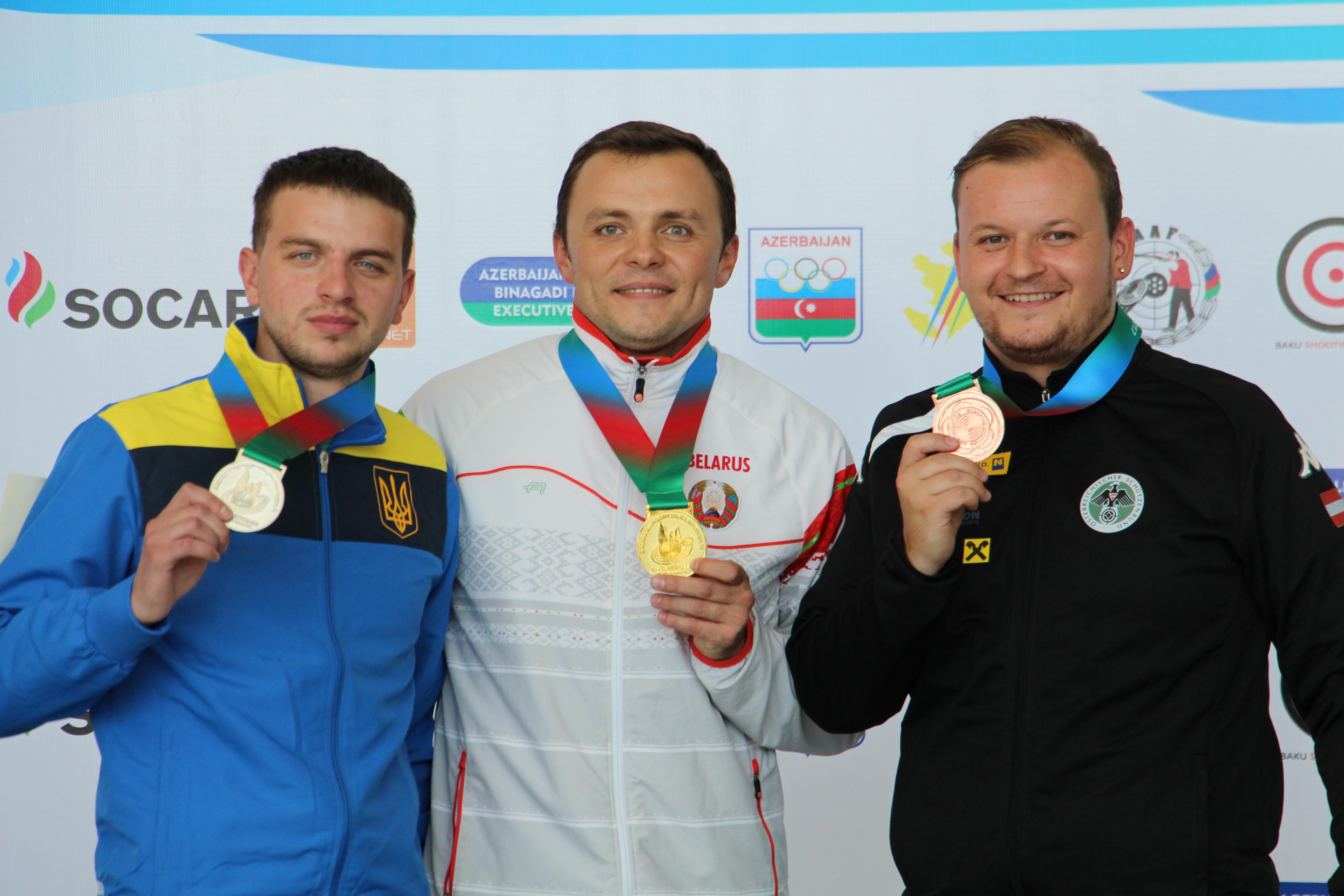Silber und Bronze für Alexander bei der EM